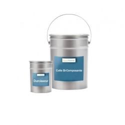 Colle bi-composant pour dalle caoutchouc pot de 5 kg de colle polyuréthane + 700 g de durcisseur
