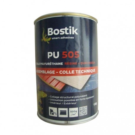 Colle PU 505 pour dalle intérieure 1 kg