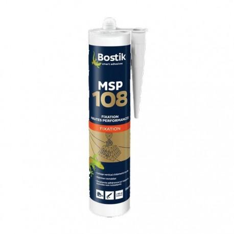 Colle MS 108 blanche monocomposant 290 ml