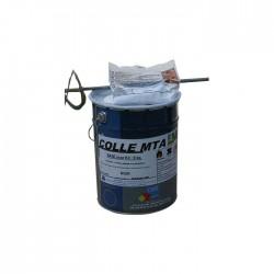 Colle méthacrylique noir 8 kg