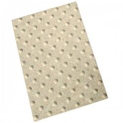 Dalle podotactile Granité extérieur crème 40 x 60 cm