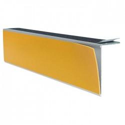Repérage de contremarches 4 en 1 à visser pour extérieur jaune longueur 3 m
