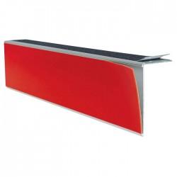 Repérage de contremarches 4 en 1 auto-adhésif pour intérieur rouge longueur 3 m
