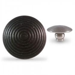 Clou podotactiles sans scellement Tige Courte Acier Zingué noir par 250