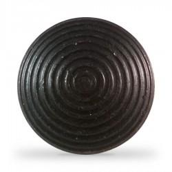 Lot de 250 clous podotactiles en acier zingué noir à sceller tige standard ANTICO