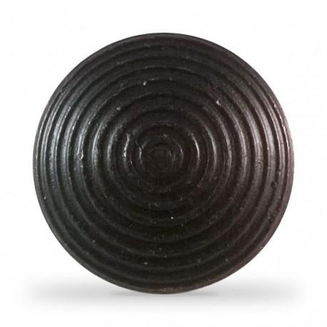 Lot de 250 clous podotactiles en acier zingué noir à sceller tige courte ANTICO