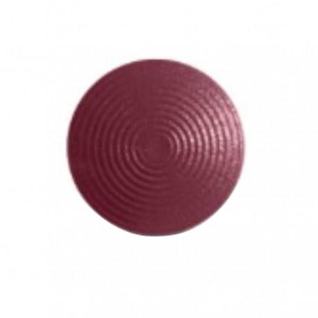 Lot de 250 clous podotactiles en acier zingué rouge à sceller tige courte ARDEKO