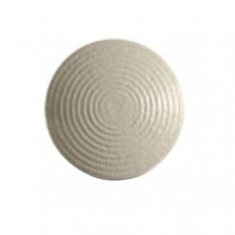 Lot de 250 clous podotactiles en acier zingué blanc à sceller tige courte ARDEKO