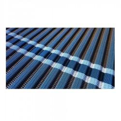 Tapis d'accès enroulable bleu 1,98 x 10 m