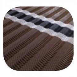 Tapis d'accès enroulable brun 1,52 x 15,2 m
