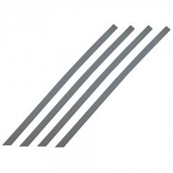 Bande d'aide à l'orientation pour intérieur barrette gris 1000 x 30 mm