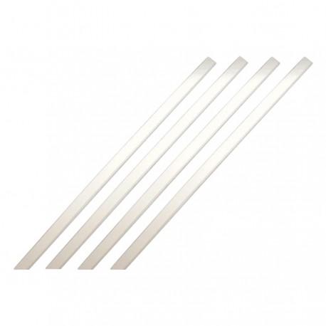 Bande d'aide à l'orientation pour intérieur barrette blanc 1000 x 30 mm