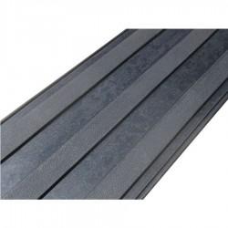 Bande d'aide à l'orientation 5 mm d'épaisseur noir 220 x 1000 mm