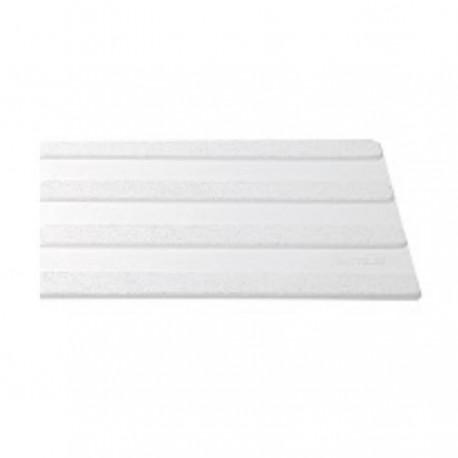 Bande d'aide à l'orientation 4 nervures 220 x 1000 mm blanc exterieur