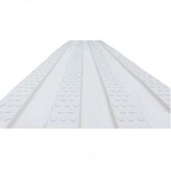 Rail de guidage PMR ligne blanc 220 x 1000 mm