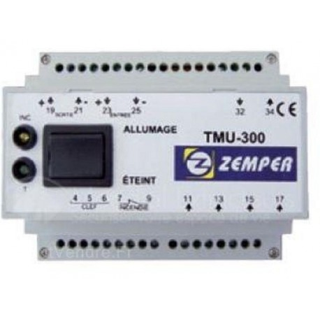 Télécommande Zemper TMU 300