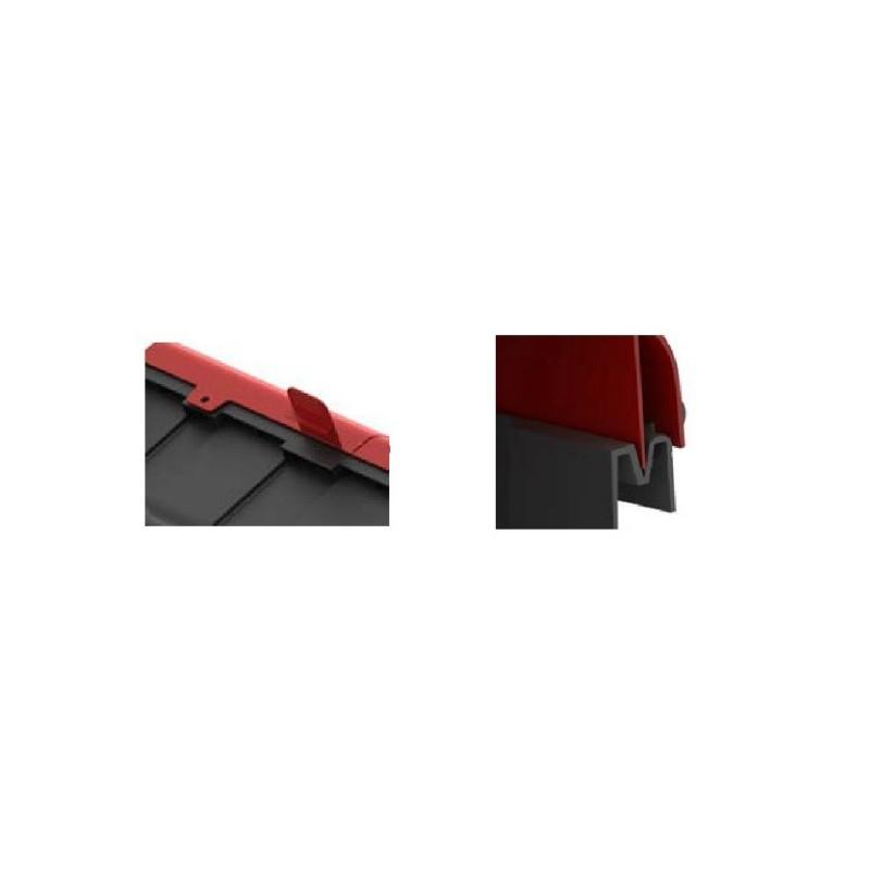 coffret extincteur rouge noir fireless. Black Bedroom Furniture Sets. Home Design Ideas
