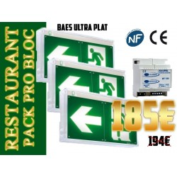 Pack Bloc secours design BAES SATI