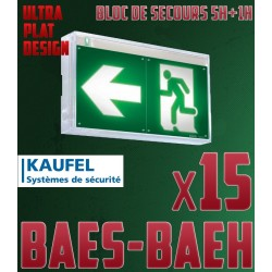 PACK BAES-BAEH DESIGN x15