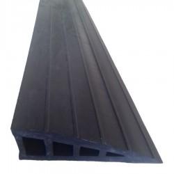 Rampe de seuil adhésive en caoutchouc GUMKA gris 40 mm