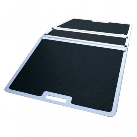 Rampe de seuil pliante en fibre de verre 760 mm
