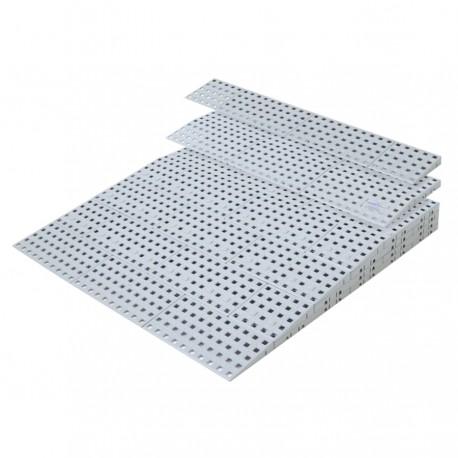 Rampe de seuil modulable intérieur 36 à 91 mm
