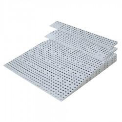 Rampe de seuil modulable intérieur 108 à 163 mm